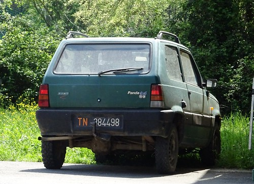 1984 Fiat Panda 4x4