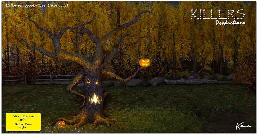 """Killer's"" Halloween Spooky Tree On Discount @ Uber Starts from 25th Sept"