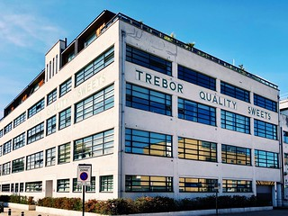 The old Trebor Sweets factory, Forest Gate