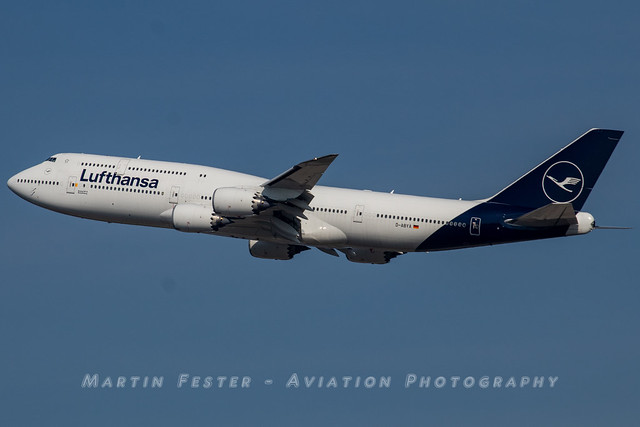 D-ABYA // Lufthansa // Boeing 747-830