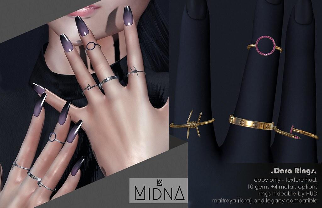 Midna – Dara Rings