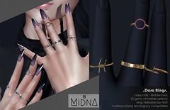 Midna - Dara Rings