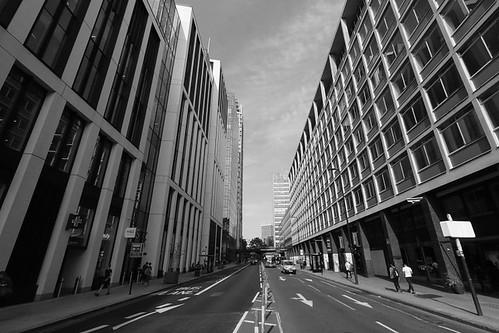 York Road In Black & White