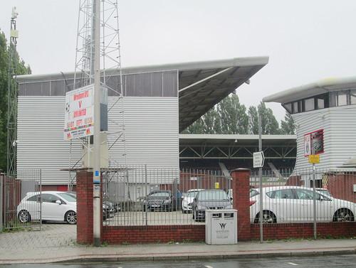 Part of North Stand, Racecourse Stadium, Wrexham,