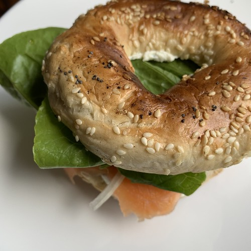 I made cream cheese! (It's excellent on a bagel with smoked salmon) | by fishbowl_fish