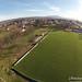 Dezember 2012 Sportplatz aus der Vogelperspektive