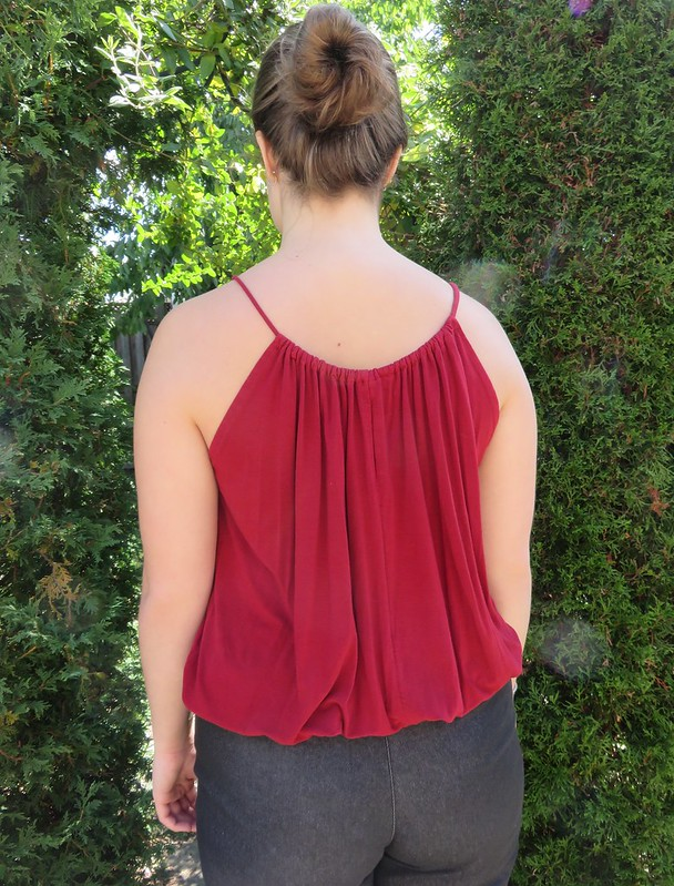 Vogue 2923 top back