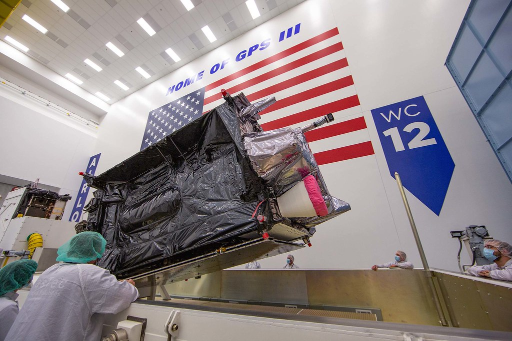 GPS III SV04 Packing