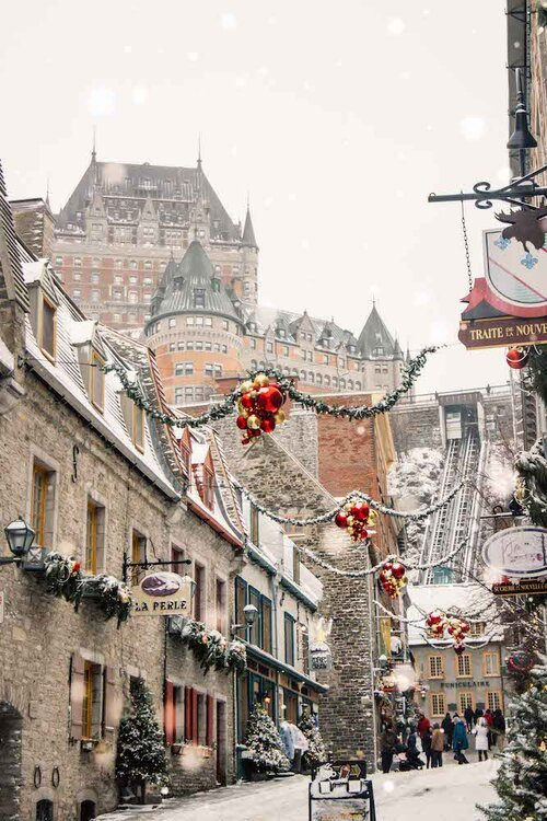 10 Places I Want to Travel After COVID-19 | Places to Travel after Lockdown is Over | Travel Aesthetic | Winter Snow Aesthetic | Montreal Quebec City Canada | Best Winter Trips | Christmas Vacation
