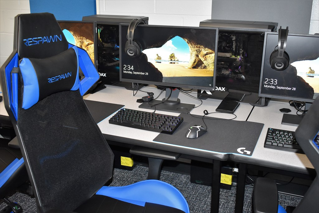 Esports Training Room & Gaming Lounge: 9-28-20