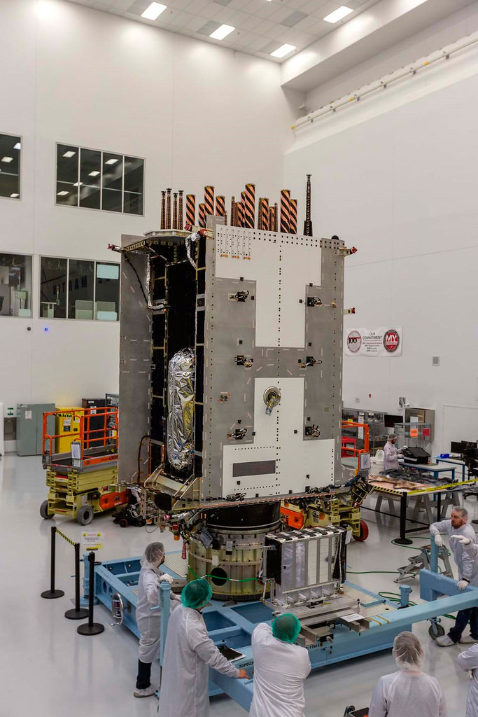 GPS III SV05 Fully Integrated