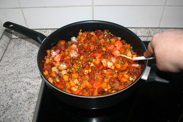 23 - Let vegetables thawn / Gemüse auftauen lassen