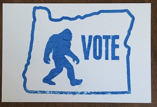 Vote post card
