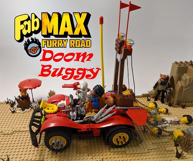 Fab Max: Furry Road - DOOM BUGGY