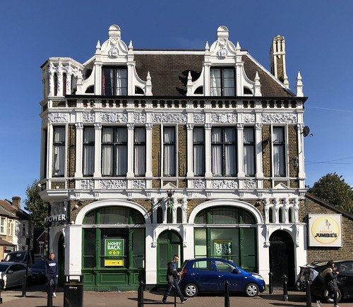 Once the Duke of Fife pub, this beautiful old building now survives as a betting shop