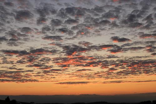royston sunset clouds sky red orange blue evening redsky therfieldheath hertfordshire england uk unitedkingdom lightroom canoneos750d