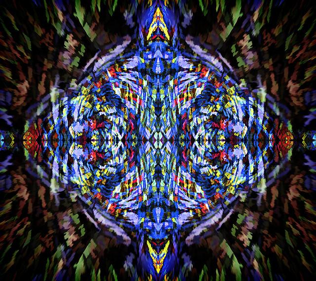 Weaving Chaos into Art