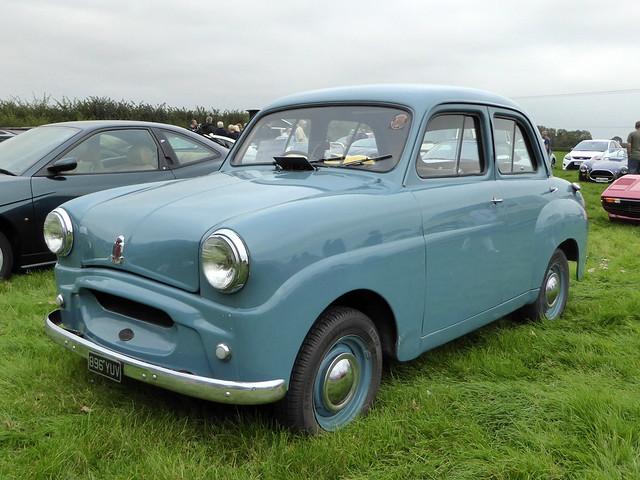 1955 Standard Eight - 896 YUV - Earls Barton 16Sep20