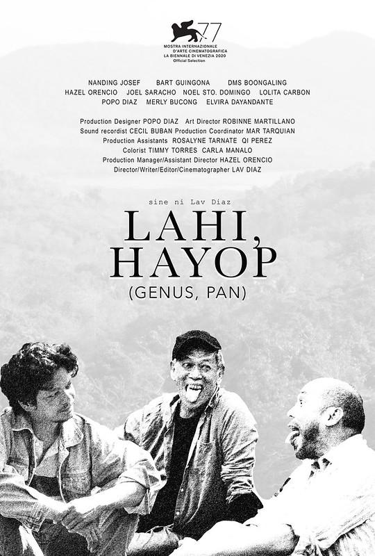 Lahi, Hayop Poster