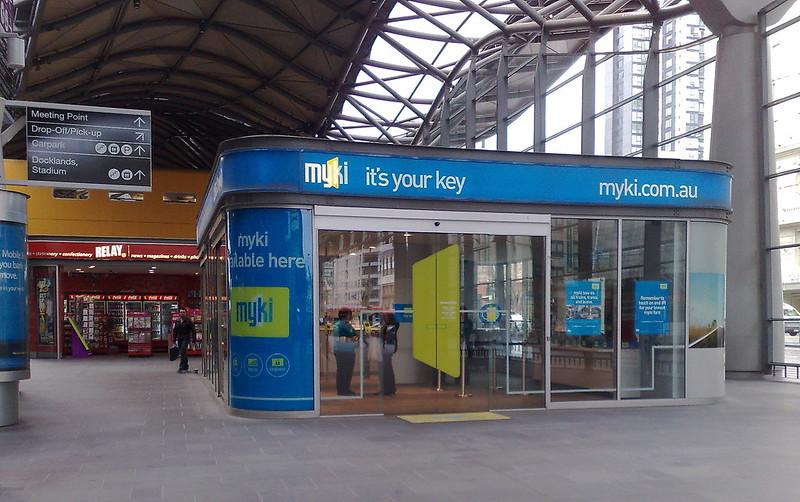 Myki discovery centre, Southern Cross Station, September 2010