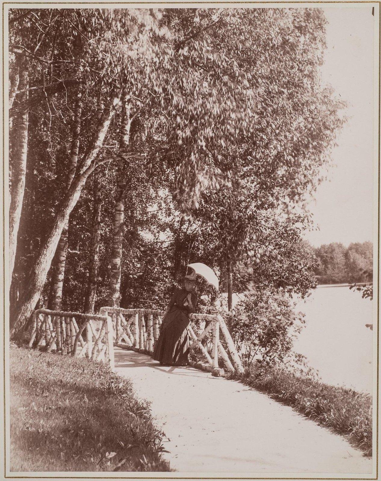 1890-е. У пруда в Баловневе