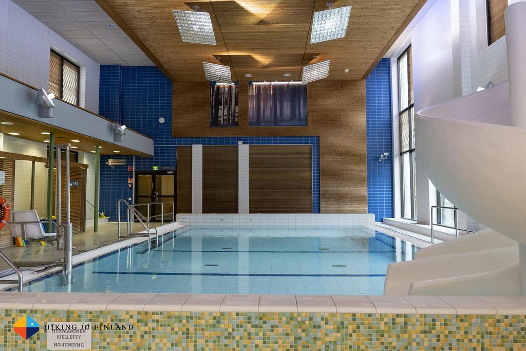 Pool at Rokua Health & Spa Hotel