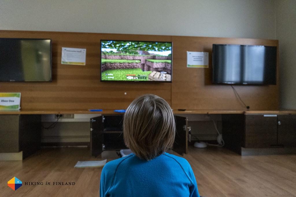 Game Room at Rokua Health & Spa Hotel