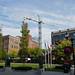 Construction crane for Cobalt Condos view from Gore Park (3)