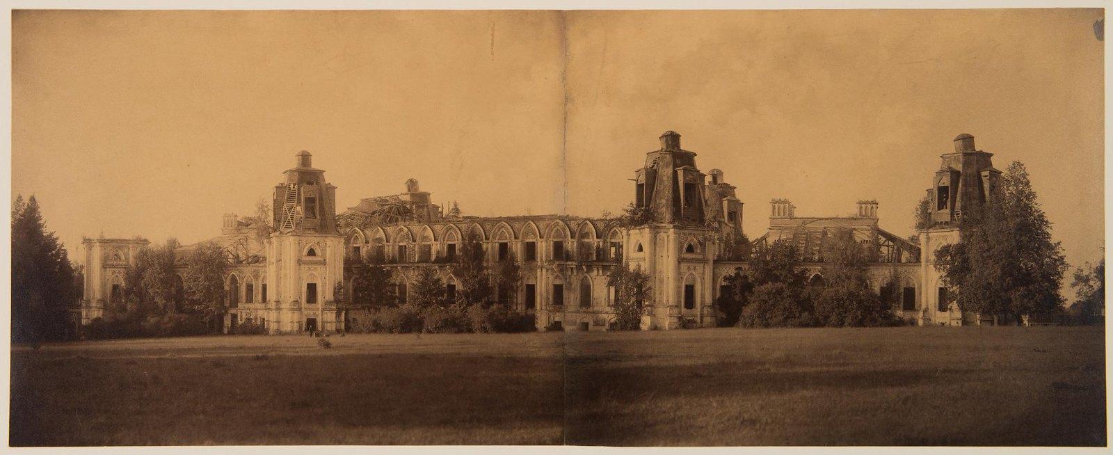 1888. Панорама дворца в Царицыне