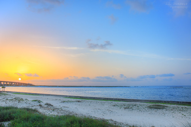 Perdido Pass Sunrise - Orange Beach, Alabama