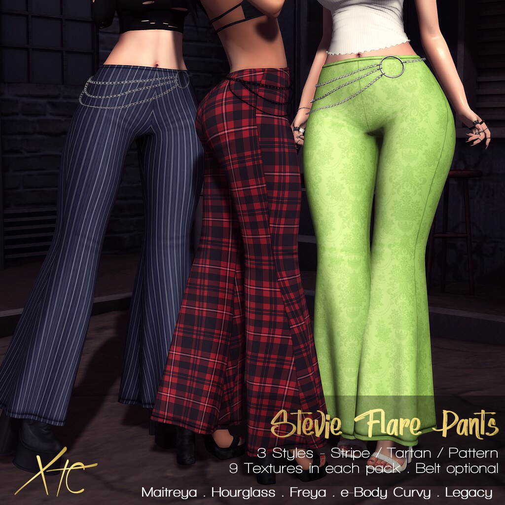 .Stevie Flare Pants. @ Miix Event Sept