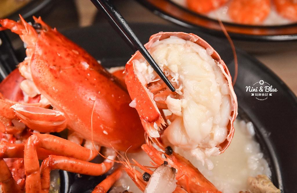 台中海鮮粥 粥堂 龍蝦 螃蟹 蟹管肉 麻油雞 32