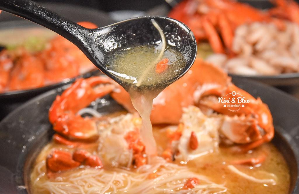 台中海鮮粥 粥堂 龍蝦 螃蟹 蟹管肉 麻油雞 24