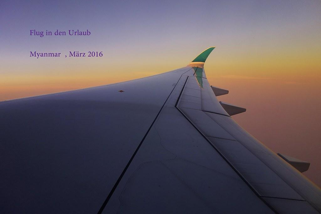 Myanmar, Anflug auf Yangon/Rangun , 78004/13004