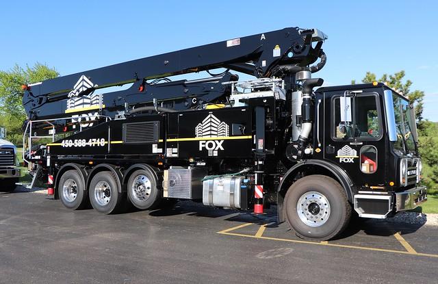 Fox Concrete Pump Truck