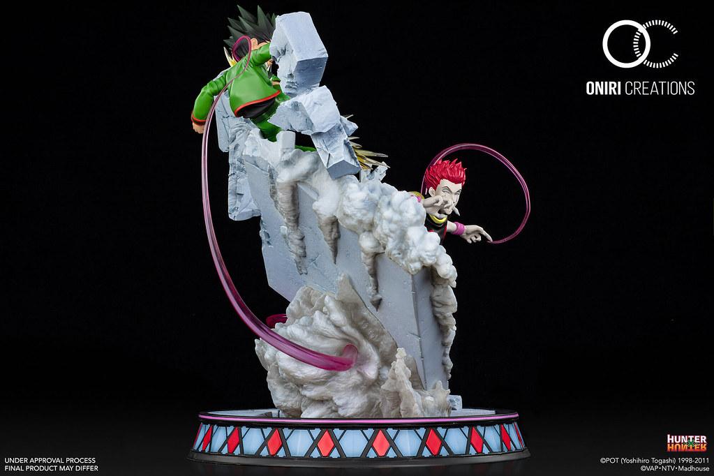 Oniri Creations《HUNTER×HUNTER 獵人》小傑 VS 西索 天空鬥技場對決 1/6比例場景雕像