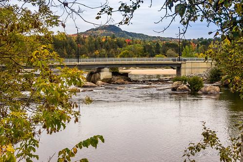 brumematinale pont rivière rivièrerouge villedelabelle brume chutesauxiroquoislabelle