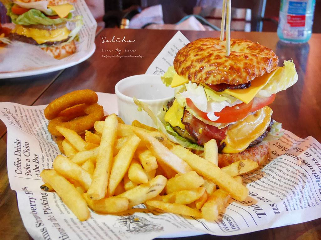 新北淡水老街景觀餐廳推薦紅色穀倉 看夕陽不限用餐時間好吃漢堡排餐披薩 (4)