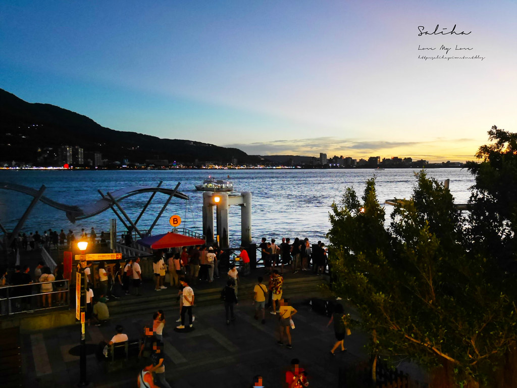 新北淡水不限時景觀餐廳咖啡廳推薦紅色穀倉看夕陽日落平價cp值高約會情人節老街美食 (3)