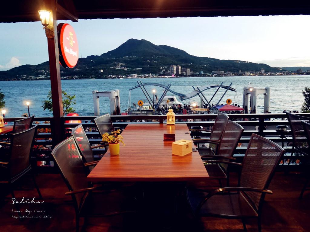 淡水景觀餐廳分享紅色穀倉好吃美食ig打卡推薦一日遊情侶約會看夕陽情人節 (4)