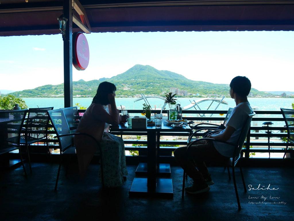 淡水老街適合約會氣氛好浪漫景觀餐廳推薦紅色穀倉不限時間餐點好吃美食有素食 (2)