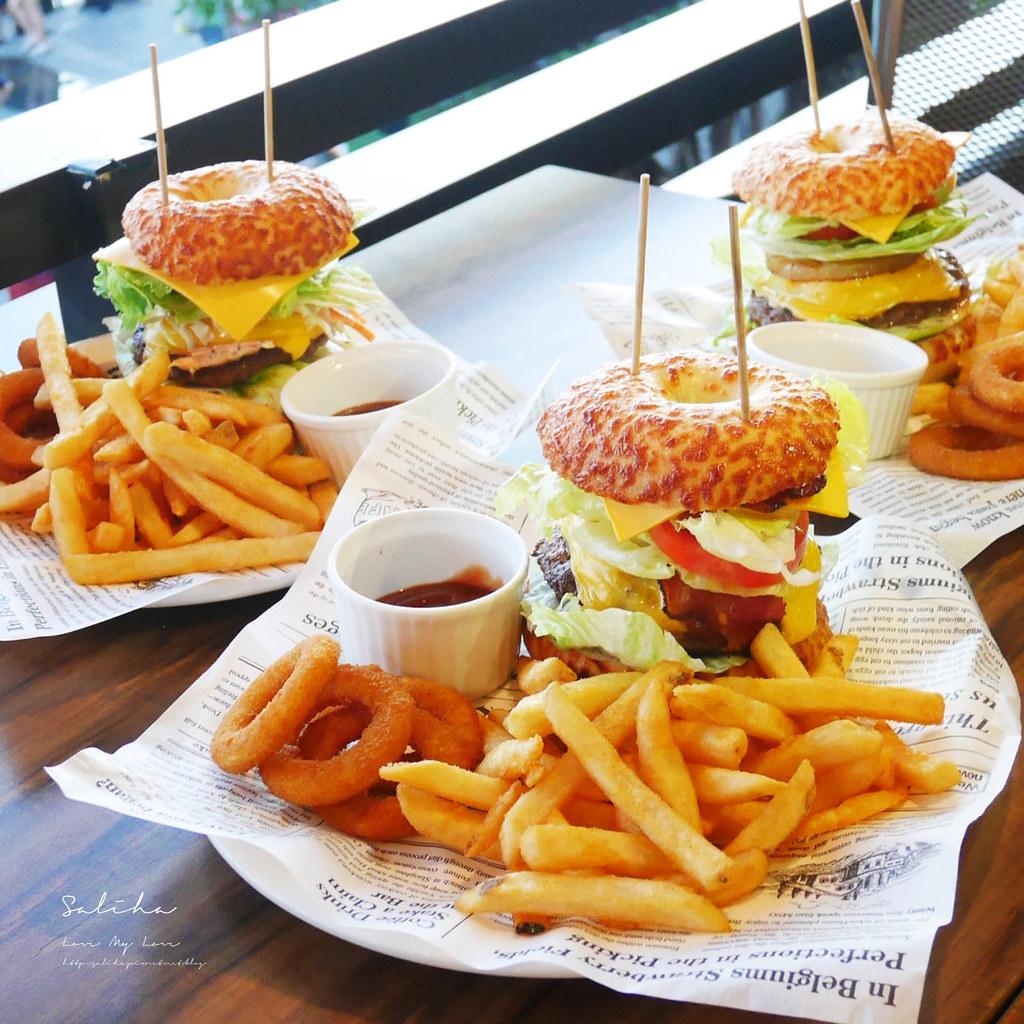 淡水老街適合約會氣氛好浪漫景觀餐廳推薦紅色穀倉不限時間餐點好吃美食有素食 (3)
