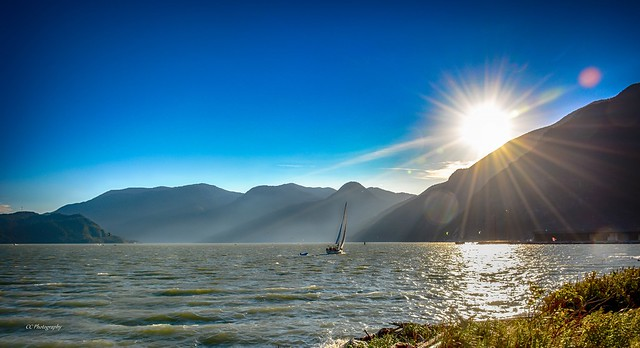 Sail into the Sunstar - Squamish, British Columbia  (EXPLORED -  THANK-YOU FLICKR)