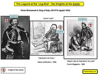 Legend of the Leg End - Victor Emmanuel II King of Italy KG 714 | by arthur.strathearn