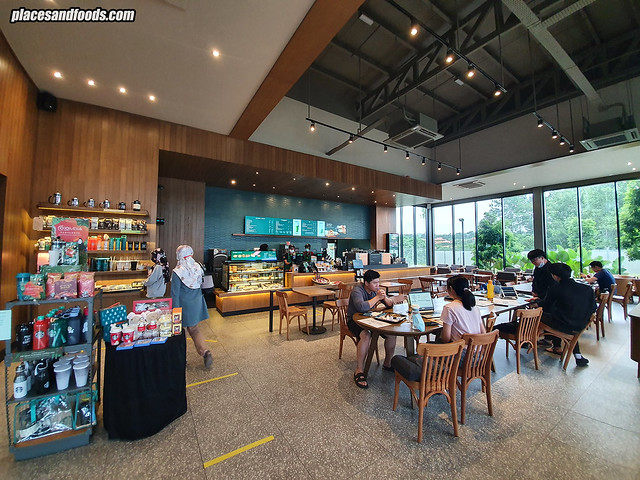 starbucks jade hills interior overview