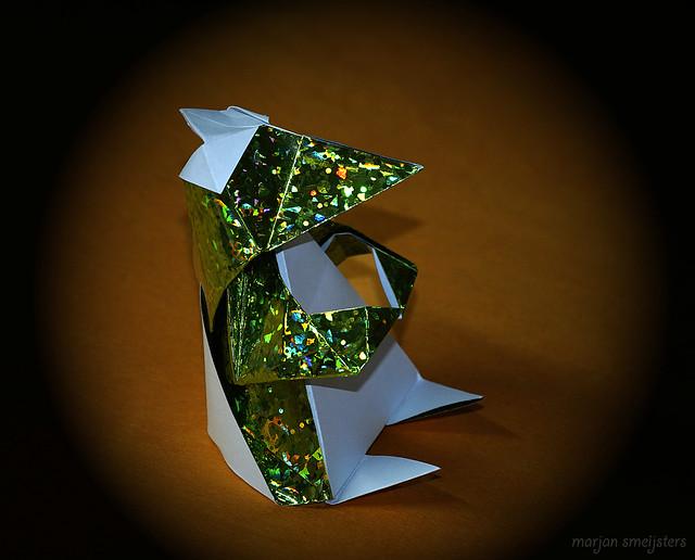 Origami Kappa-Kun/Chick (Yoshihisa Kimura)