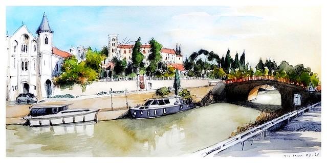 Ventenac - Occitanie - France - canal du Midi
