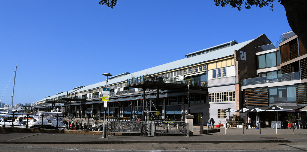 Jones Bay Wharf, Pyrmont, Sydney, NSW.