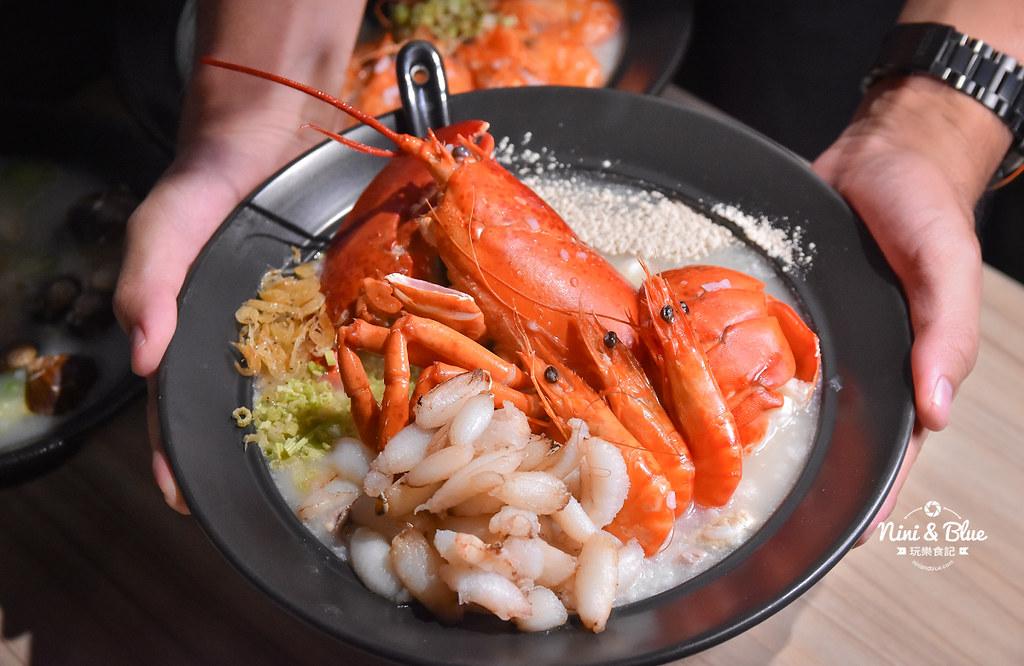 台中海鮮粥 粥堂 龍蝦 螃蟹 蟹管肉 麻油雞 10