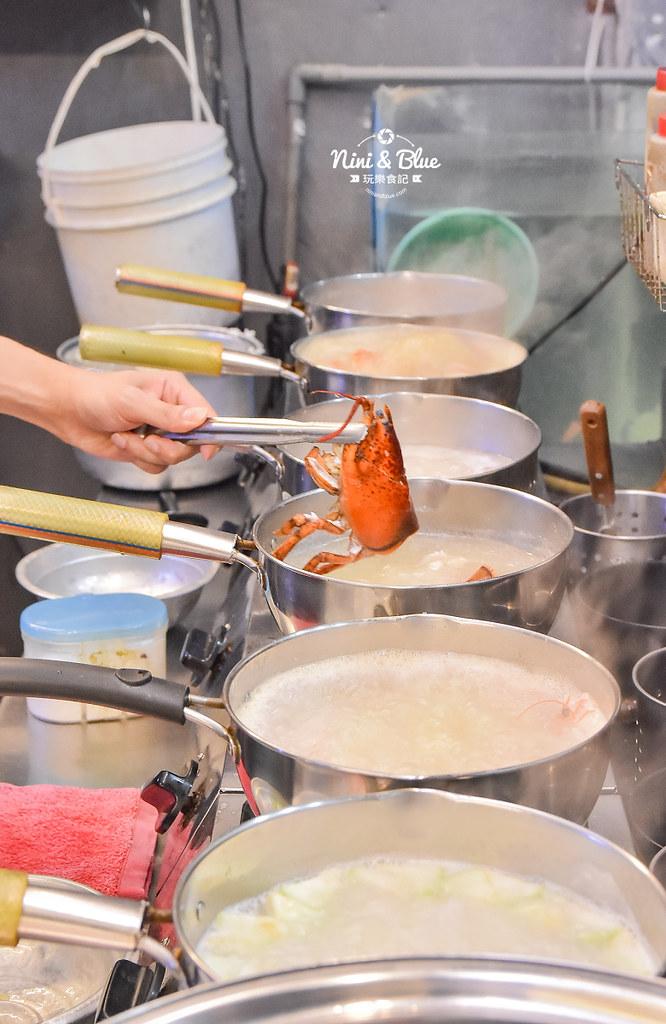 台中海鮮粥 粥堂 龍蝦 螃蟹 蟹管肉 麻油雞 06